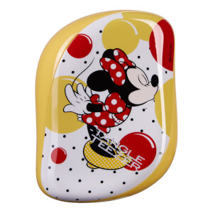 Tangle Teezer Compact Styler Minnie Mouse Sunshine Yellow Hairbrush