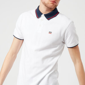 Levi's Men's Breaker Logo Polo Shirt - White