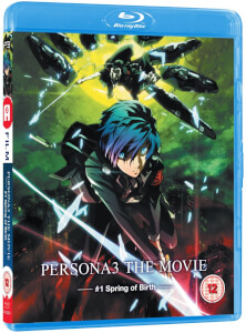 Persona3 Movie 1 - Standard BD with Limited Edition Collectors Case