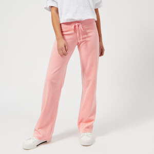 Juicy Couture Women's Velour Mar Vista Pants - Sorbet Pink