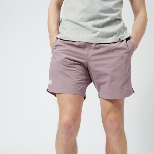 Pretty Green Men's Logo Swim Shorts - Pink