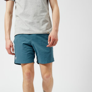 Pretty Green Men's Logo Swim Shorts - Blue