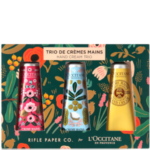 L'Occitane Rifle Paper Co. and Hand Cream Trio 1oz (Worth $36)