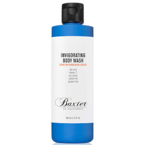 Gel corporal revigorizante de Baxter of California 236 ml - Cítrico y almizcle herbal