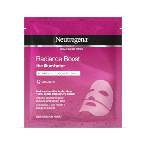 Neutrogena Radiance Boost Hydrogel Recovery Mask - maschera illuminante 30 ml