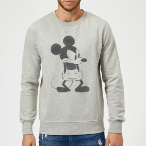 Sweat Homme Mickey Mouse en Colère (Disney) - Gris