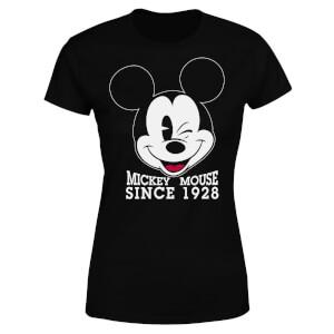 Disney Mickey Mouse Since 1928 Women's T-Shirt - Black