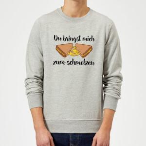 Zum Schmelzen Sweatshirt - Grey