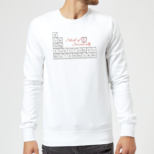 I Think Of You Periodically Sweatshirt - White