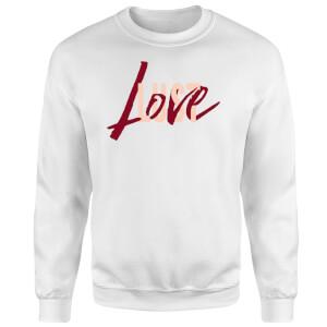 Sweat Homme Love & Lust - Blanc