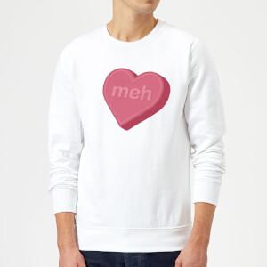 Meh Sweatshirt - White