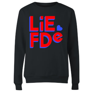 Liefde Block Women's Sweatshirt - Black