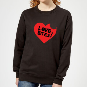 Love Bites Women's Sweatshirt - Black