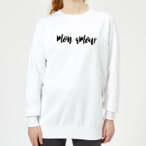 Mon Amour Frauen Pullover - Weiß