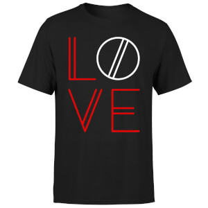Love Geo T-Shirt - Black
