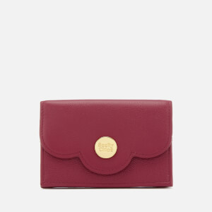 See By Chloe Women's Card Case - Berry Pink