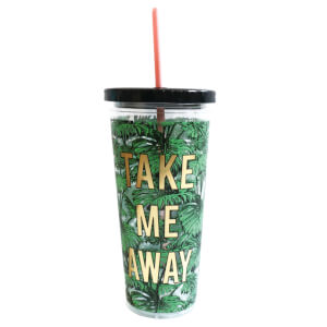Alice Scott Tumbler with Straw