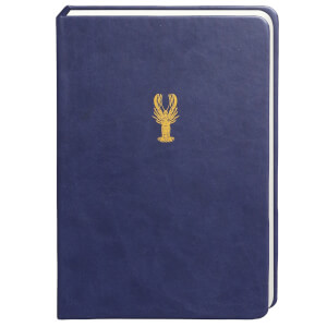 Sky + Miller Lobster Notebook - Midnight