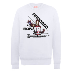 Marvel Avengers Assemble Iron Man Sweatshirt - White