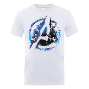 T-Shirt Marvel Avengers Assemble Flared - Bianco