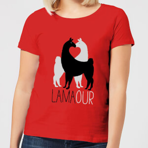 Lamaour Women's T-Shirt - Red