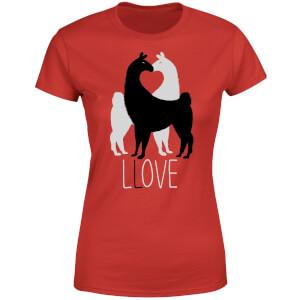 Llove Women's T-Shirt - Red