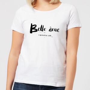 T-Shirt Femme Belle Âme - Blanc