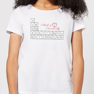 I Think Of You Periodically Women's T-Shirt - White