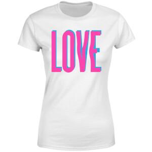 Love Glitch Women's T-Shirt - White