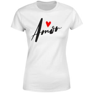 Amor Women's T-Shirt - White