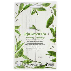 Vitamasques Jeju Green Tea Sheet Mask -kasvonaamio 20ml