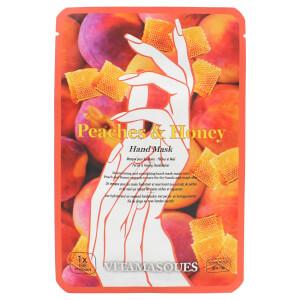 Vitamasques Peach and Honey Hand Mask maseczka do rąk 2 x 13 g