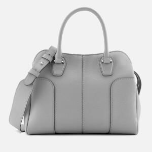 Tod's Women's Small Zip Hobo Satchel - Grey