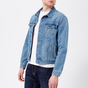 Edwin Men's High Road Denim Jacket - Light Stone Wash