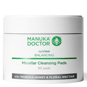 Manuka Doctor Apiclear Balancing Micellar Cleansing Pads (Pack of 60)