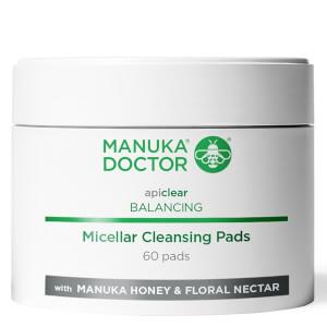 Manuka Doctor Apiclear Balancing Micellar Cleansing Pads (60 Stück)