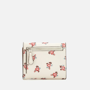 Coach Women's Small Wallet - Chalk Floral Bloom: Image 2