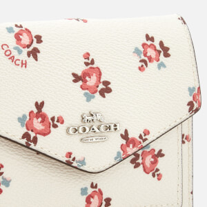 Coach Women's Small Wallet - Chalk Floral Bloom: Image 3