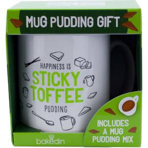 bakedin Sticky Toffee Pudding Mug Gift Set