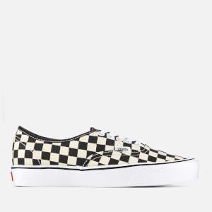Vans Checkerboard Authentic Lite Trainers - Black/White