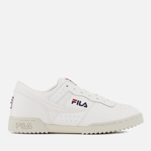FILA Men's Original Fitness Ripple Trainers - White