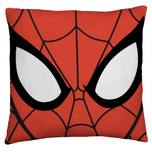 Spiderman Abstract Square Cushion