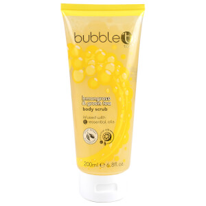 Bubble T Lemongrass and Green Tea Body Scrub (200ml): Image 1