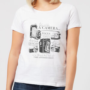 Life Is Like A Camera Women's T-Shirt - White