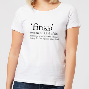 Fit (ish) Women's T-Shirt - White