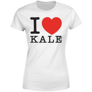 I Heart Kale Women's T-Shirt - White