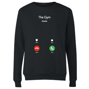 Gym Calling Women's Sweatshirt - Black