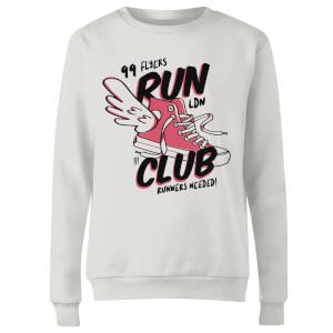 RUN CLUB 99 Women's Sweatshirt - White