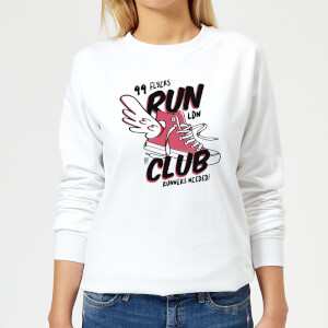 RUN CLUB 99 Women's Sweatshirt - White