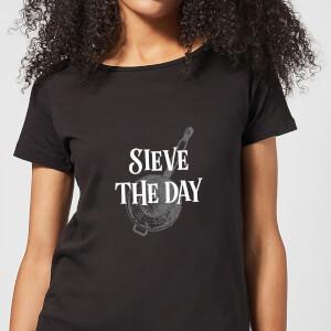 Sieve The Day Women's T-Shirt - Black
